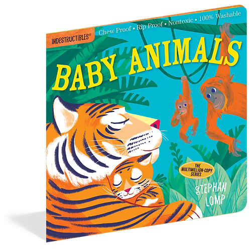Workman Publishing - Indestructibles - Baby Books - Baby Animals