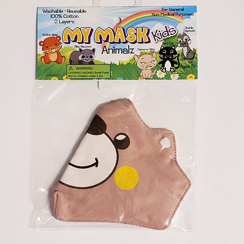 Zorbitz - My Mask Kids Animals - Bobby Bear