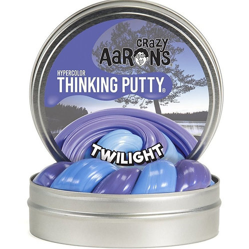 """Crazy Aaron's Thinking Putty - 2"""" Twilight - Hypercolor"""