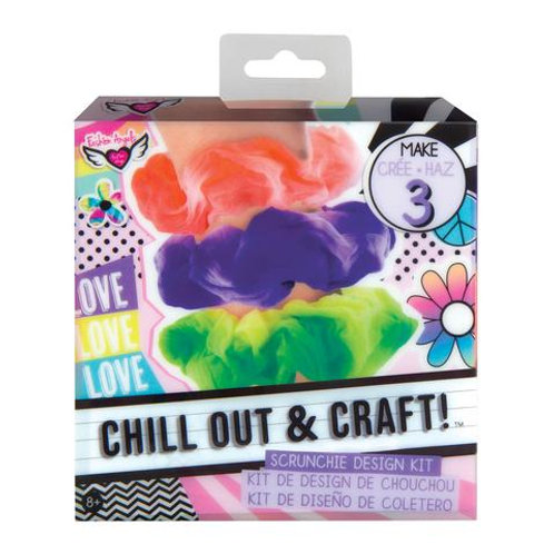 Fashion Angels - Chill Out & Craft Scrunchie Design Kit