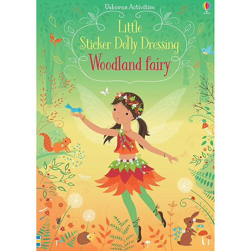 Usborne - Little Stickers Dolly Dressing Woodland Fairy