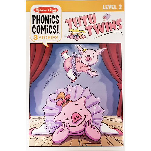Melissa & Doug - Tutu Twins - Phonics Comics