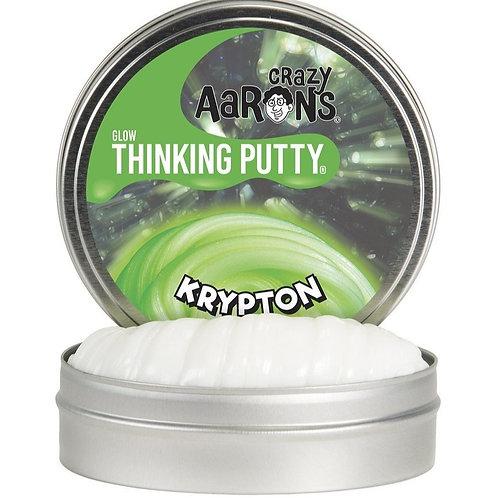 "Crazy Aaron's Thinking Putty - 2"" Krypton - Glow"
