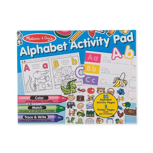 Melissa & Doug - Alphabet Activity Pad