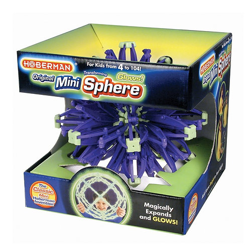 Hoberman Mini Sphere - Expanding Universe Glow