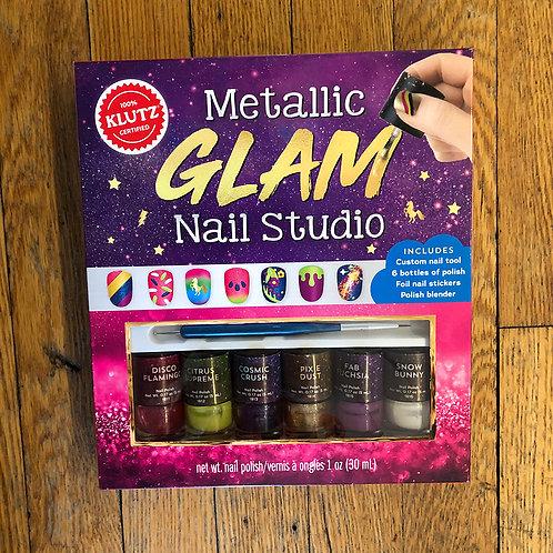 Klutz - Metallic Glam Nail Studio
