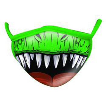 Wild Republic- Dinosaur Wild Smiles Childs Face Mask