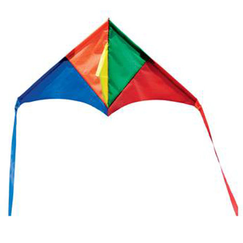 Melissa & Doug - Mini Kite - Triangle Rainbow Delta