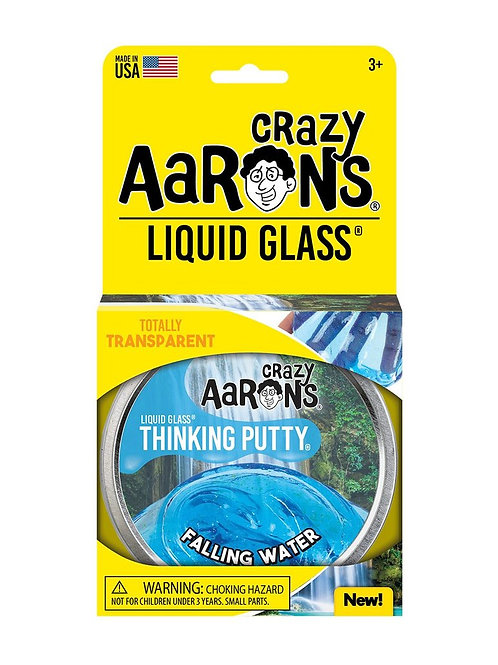"Crazy Aaron's Thinking Putty - 4"" Falling Water - Liquid Glass"