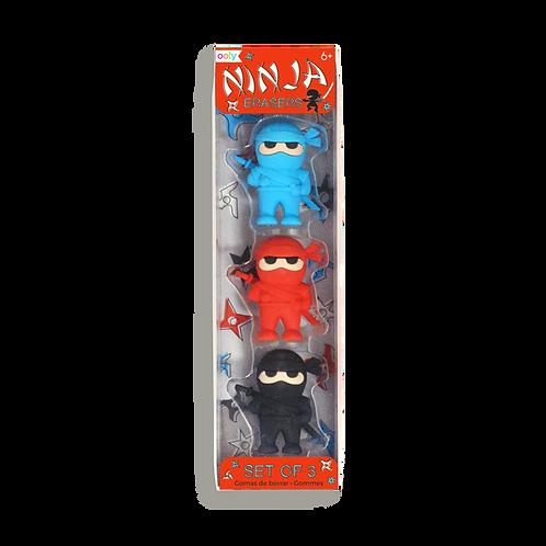 Ooly - Ninja Erasers