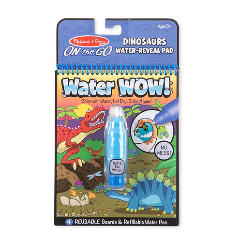 Melissa & Doug - Water Wow - Dinosaurs