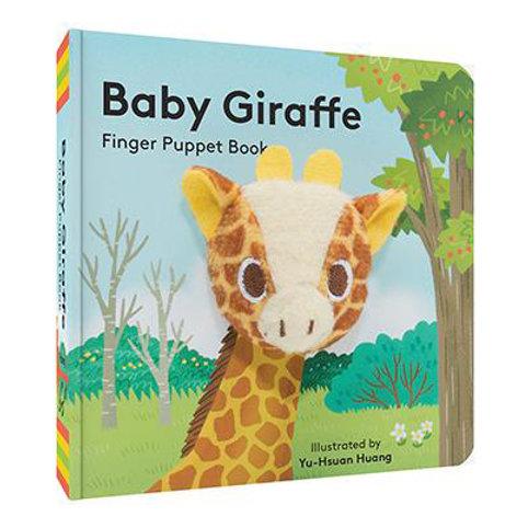 Finger Puppet Book - Baby Giraffe