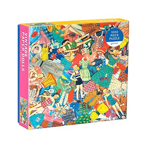 Galison - Vintage Paper Dolls 1000 Piece Puzzle