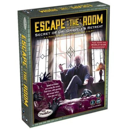 Think Fun -  Secret of Dr. Gravely's Retreat - Escape the Room
