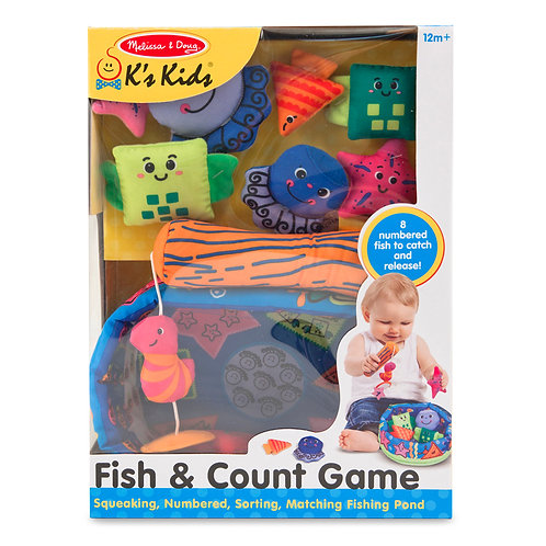 Melissa & Doug - Fish & Count Game