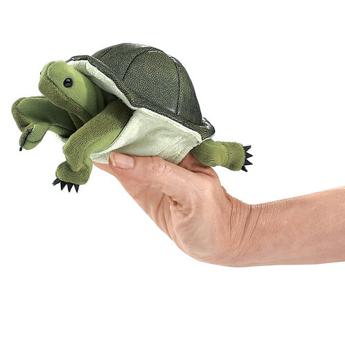 Folkmanis Finger Puppet - Mini Turtle