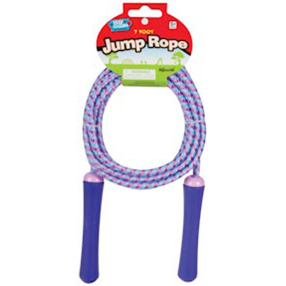 Toysmith - 7 ft. Jump Rope COLOR WILL VARY