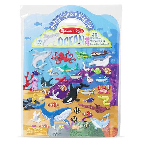 Melissa & Doug - Ocean - Puffy Sticker Play Set