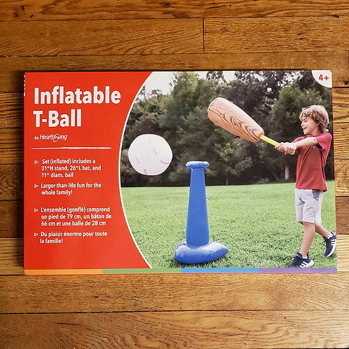 Hearthsong - Inflatable T-Ball