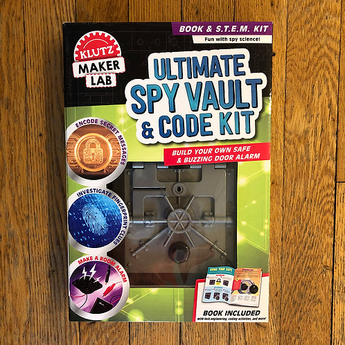 Klutz - Ultimate Spy Vault & Code Kit