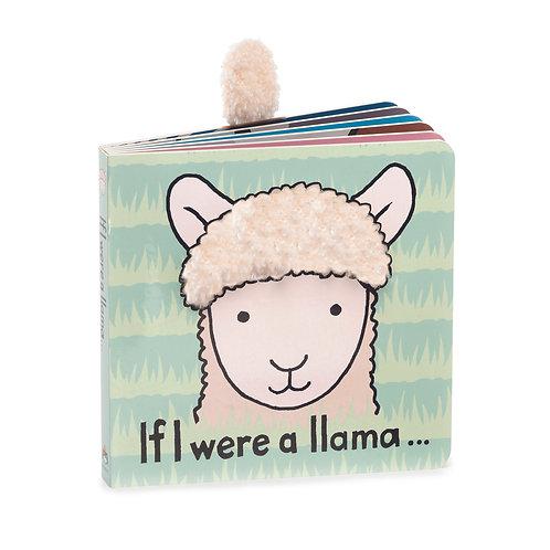 Jellycat - If I Were a Llama - Board Book