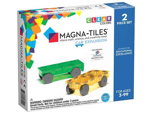 Magna-Tiles - Cars - 2 Piece Expansion Set