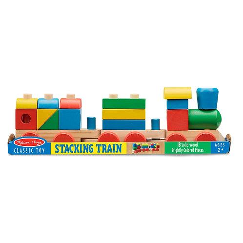 Melissa & Doug - Stacking Train Toddler Toy