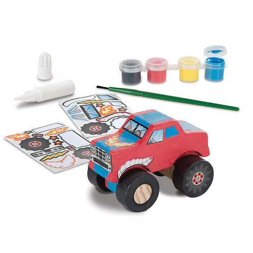 Melissa & Doug - Created by Me! Monster Truck Wooden Craft Kit