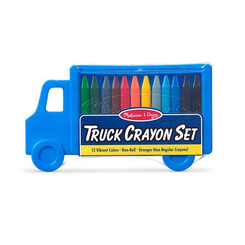 Melissa & Doug - Crayon Set - Truck
