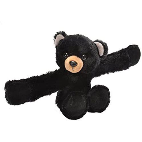 Wild Republic - Black Bear Huggers Slap Bracelet