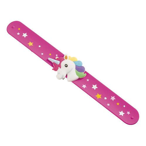 Toysmith - Unicorn Slap Bracelet - COLOR WILL VARY
