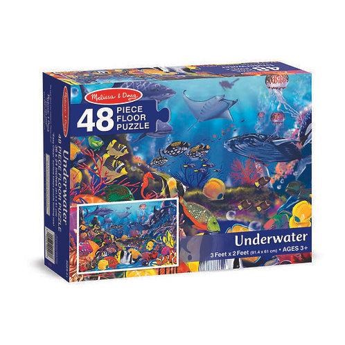 Melissa & Doug - 48 pc - Underwater Floor Puzzle