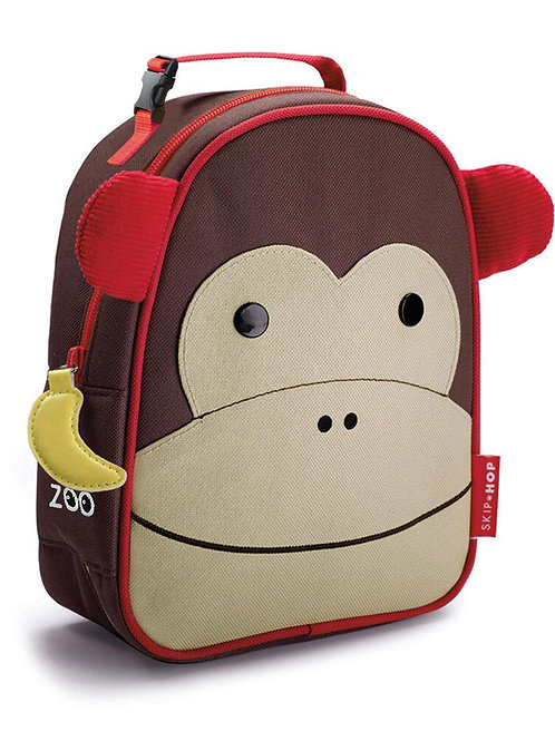 Skip Hop - Zoo Lunchie Insulated Kids Lunch Bag - Monkey