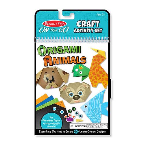 Melissa & Doug - On the Go Crafts - Origami Animals