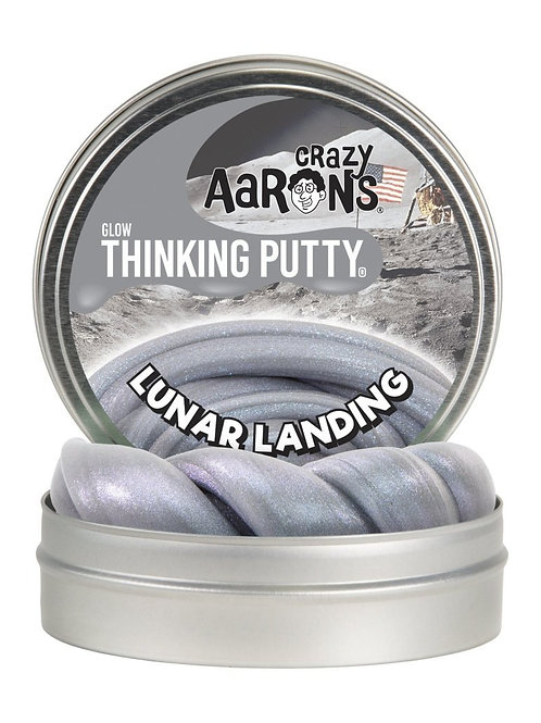 "Crazy Aaron's Thinking Putty - 4"" Lunar Landing - Glow"