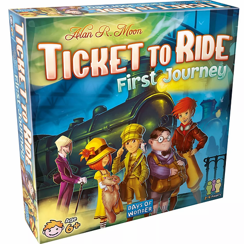 Asmodee - Ticket To Ride - First Journey