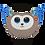 Thumbnail: TY - Slush Husky Kid Mask