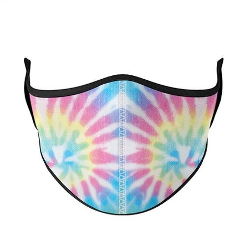 Top Trenz - Pastel Tie-Dye Mask - Small/Kids