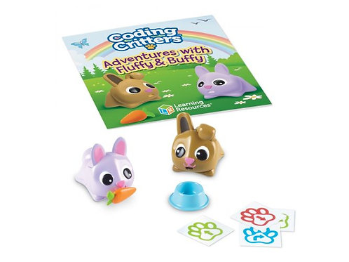 Learning Resources - Coding Critters Pair-a-Pets: Adventures with Fluffy & Buffy