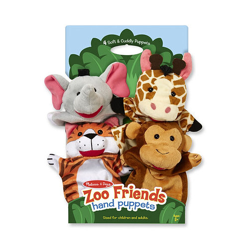 Melissa & Doug - Zoo Friends Hand Puppets