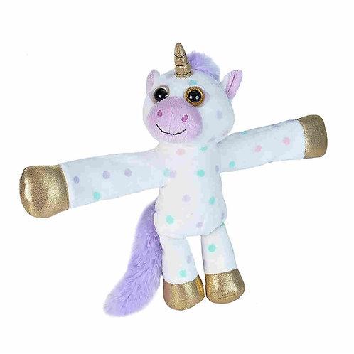 Wild Republic - Polka Dot Unicorn Huggers Slap Bracelet
