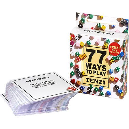 Tenzi - 77 Ways to Play