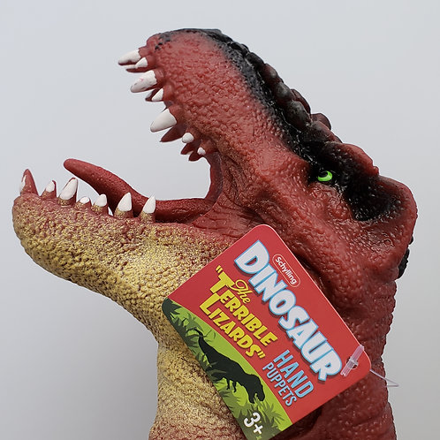 Schylling - Dinosaur Hand Puppet - COLOR WILL VARY