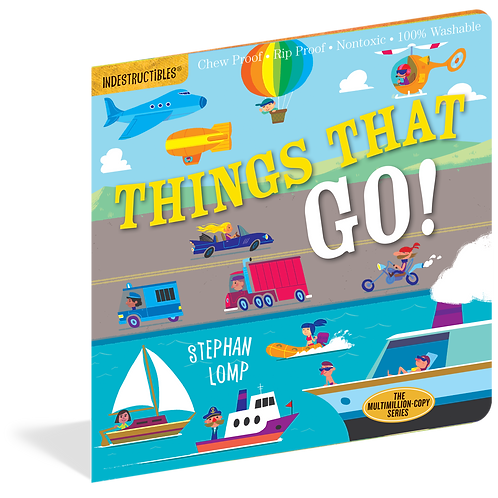Workman Publishing - Indestructibles - Baby Books - Things That Go