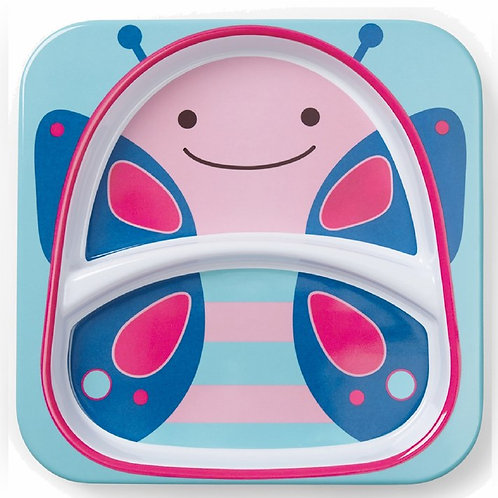 Skip Hop - Zoo Little Kid Plate - Butterfly