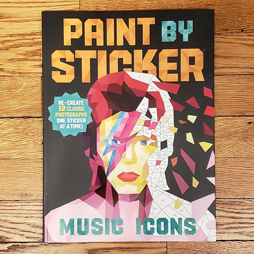 Workman Publishing - Paint by Sticker - Music Icons
