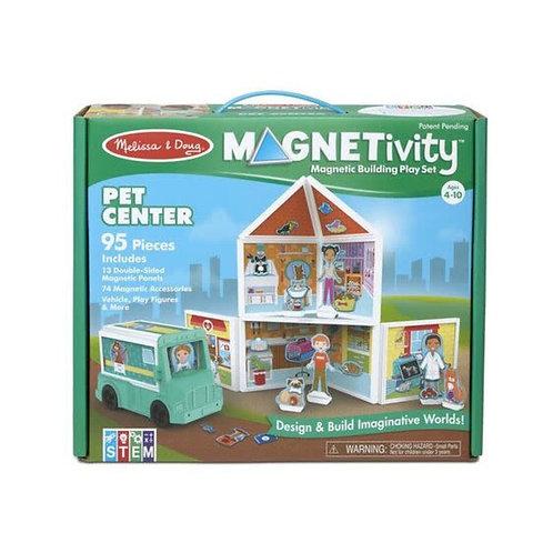 Melissa & Doug - Magnetivity Magnetic Building Play Set - Pet Center