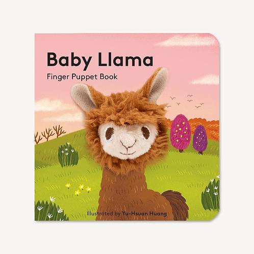 Finger Puppet Book - Baby Llama