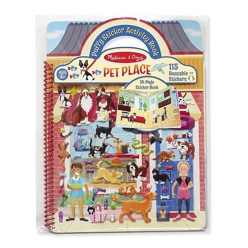 Melissa & Doug - Pet Shop Place - Puffy Sticker Activity Book