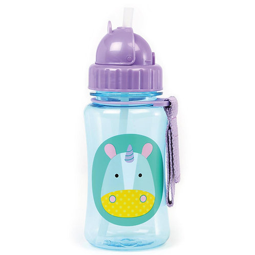 Skip Hop - Zoo Straw Bottle - Unicorn
